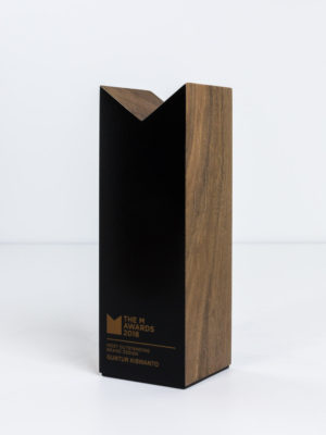 Marque The M Awards Trophy