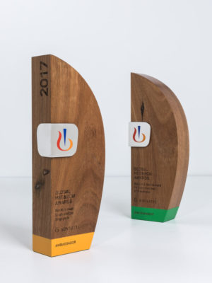 Novartis Switzerland Sustainable Timber Trophies