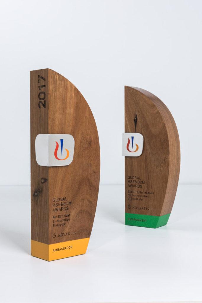 Novartis Switzerland Sustainable Timber Trophies