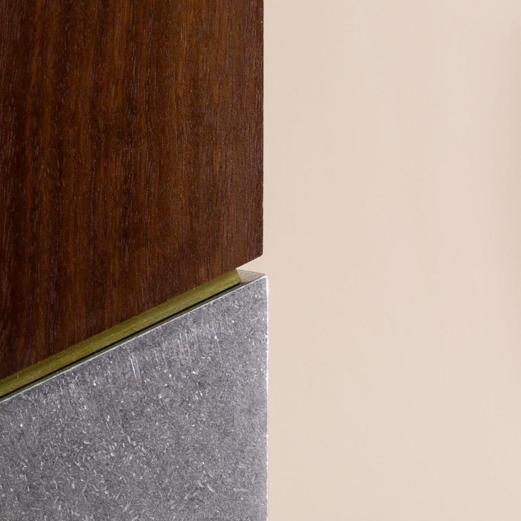 Brass spacer detail