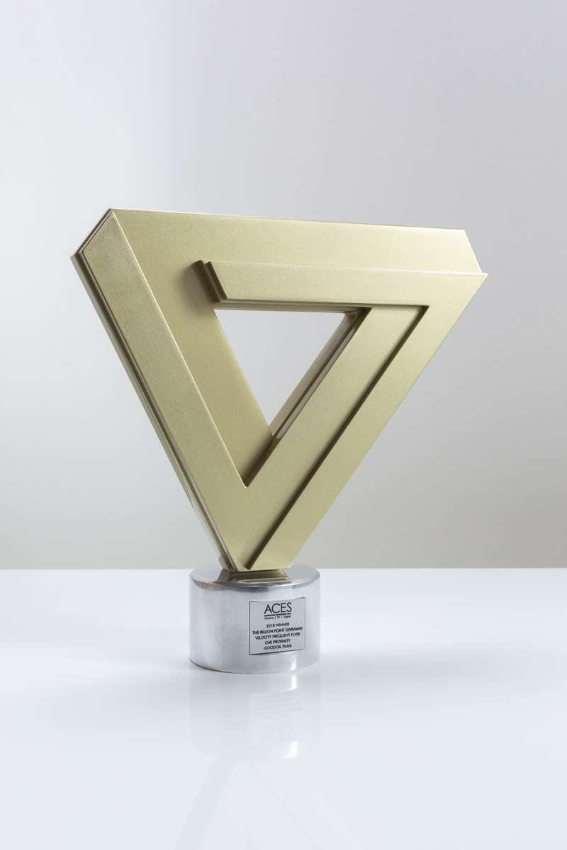 The ACES Award Trophy