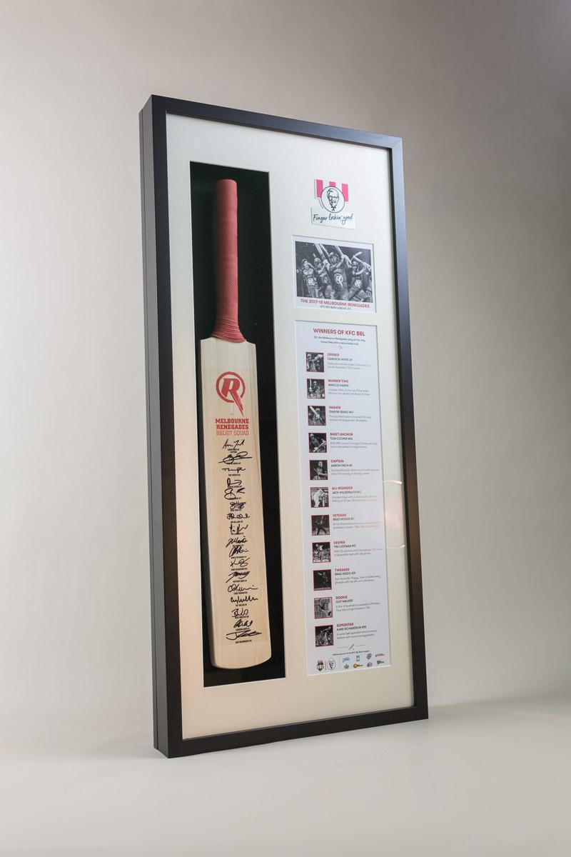 KFC Cricket Bat Presentation Box