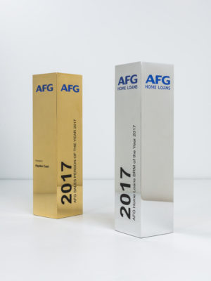 AFG Home Loans Award Trophies