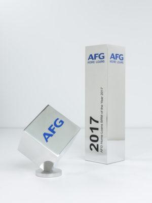 AFG Home Loans Custom Award Trophies