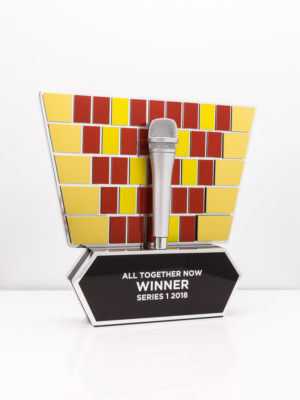 All Together Now Television Award Trophy