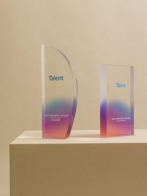 Talent International Award Trophies