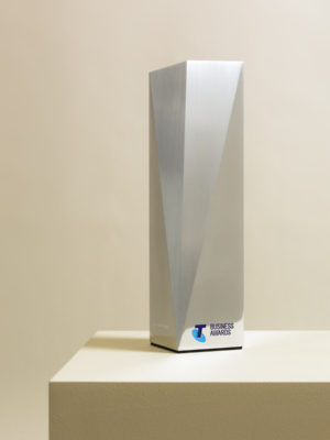 Telstra Business Awards Trophies
