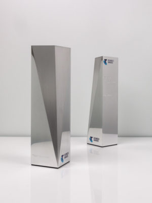 Telstra Business Awards Bespoke Trophies