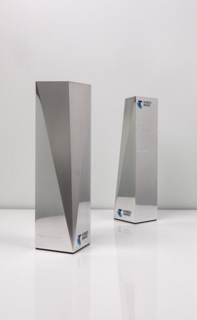 Telstra Business Awards Bespoke Trophies