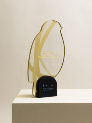 True Alliance Bird Award Trophy