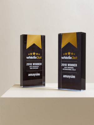 Whistle Out Acrylic Award Trophies