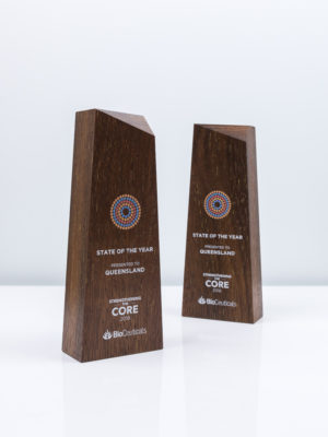 Bioceuticals Sustainable Award Trophies