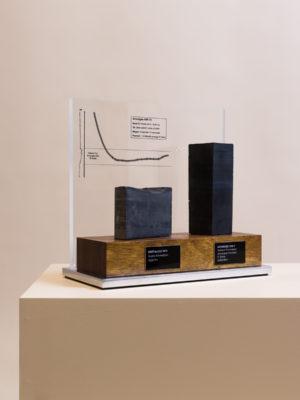 Origin Energy Custom Mounted Rock Trophy