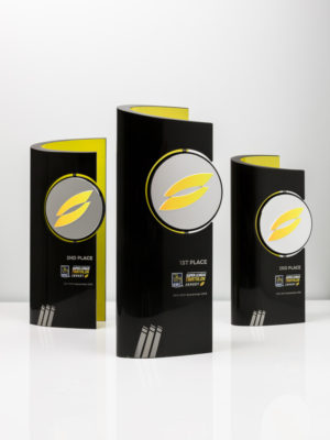 Super League Triathlon International Awards Trophies