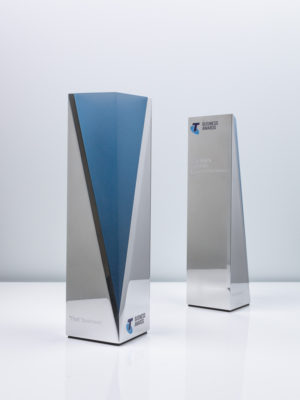 Telstra Business Award Trophies