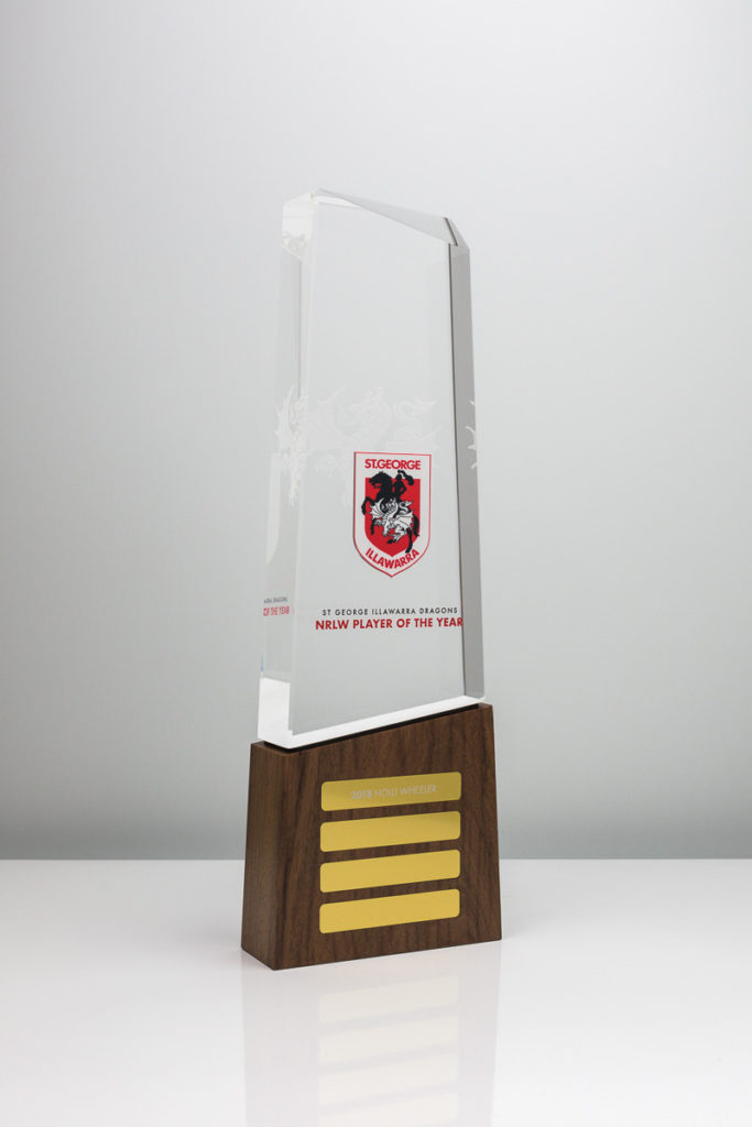 St George Illawarra Dragons Player of the Year Perpetual Award Trophy