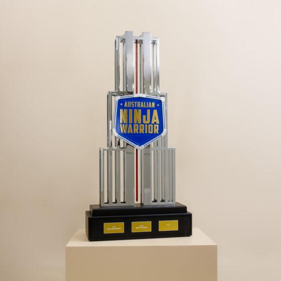Australian Ninja Warrior - Bespoke Mt Midoriyama Trophy