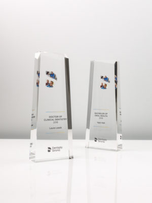 Dentsply Sirona Crystal Glass Trophies