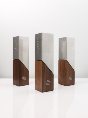 Ikon Communications Tower Trophies