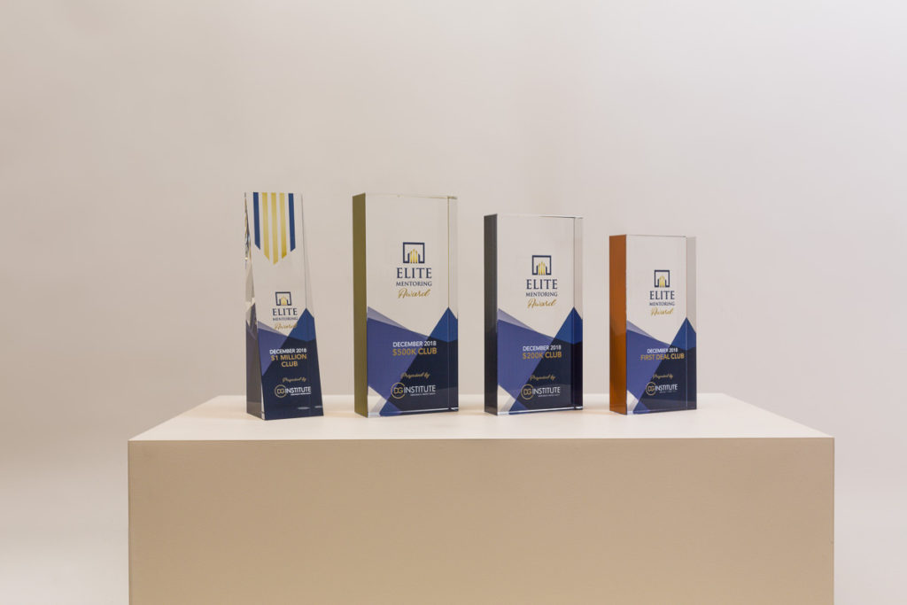 DG Institute Crystal Glass Awards