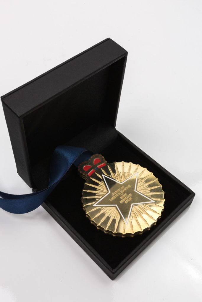Bespoke Brass Medallion