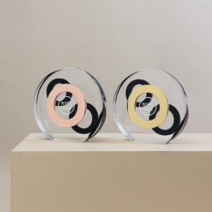WPP AUNZ Bespoke Copper and Gold Award Trophies
