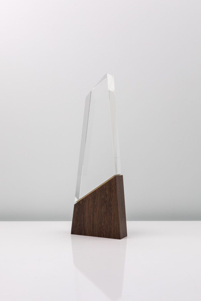 The Summit House Collection Design Awards Crystal