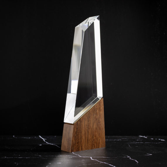 The Summit House Collection Design Awards Crystal Trophy