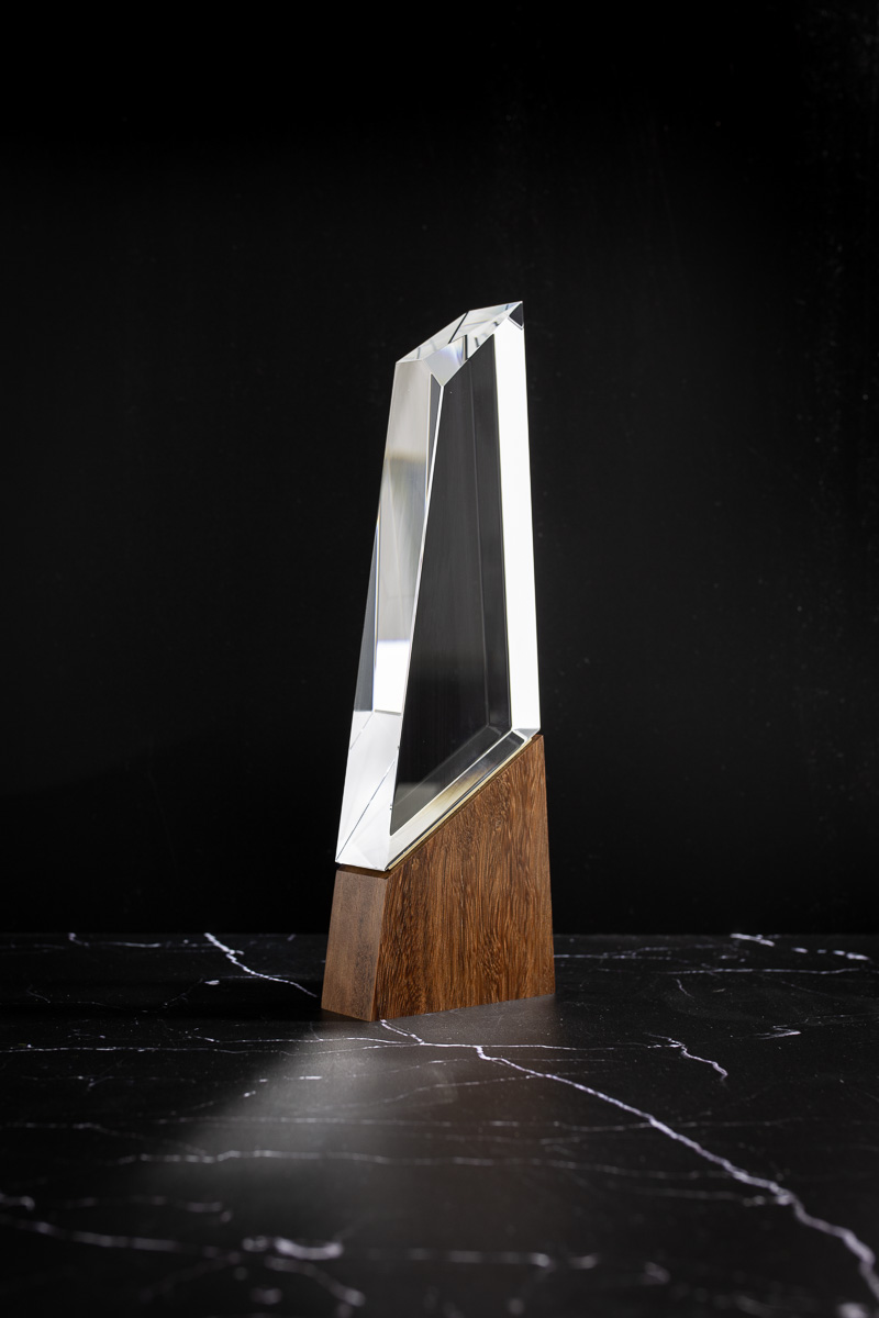 The Tine House Collection Design Awards Crystal Trophy