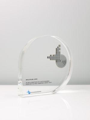 Bai Communications Long Service Recognition Trophy