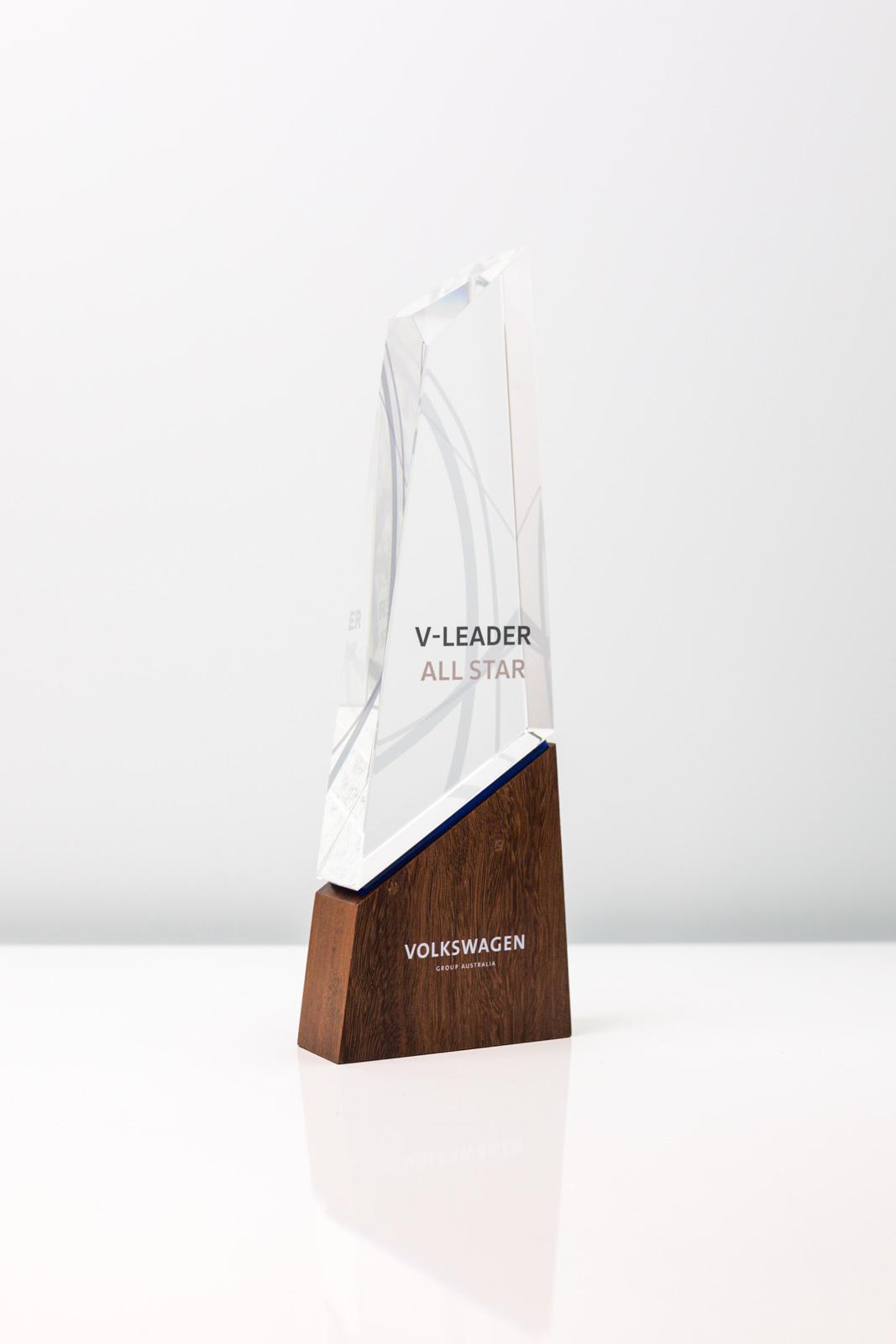 Volkswagen Summit Crystal Award