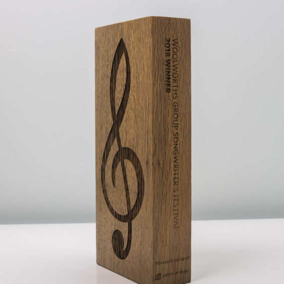 Woolworths Group Songwriter's Festival Sustainable Timber Award