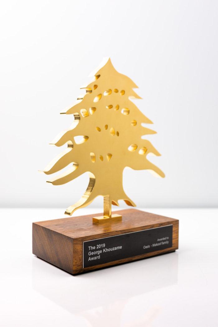 George Khouzame Gold Lebanon Award