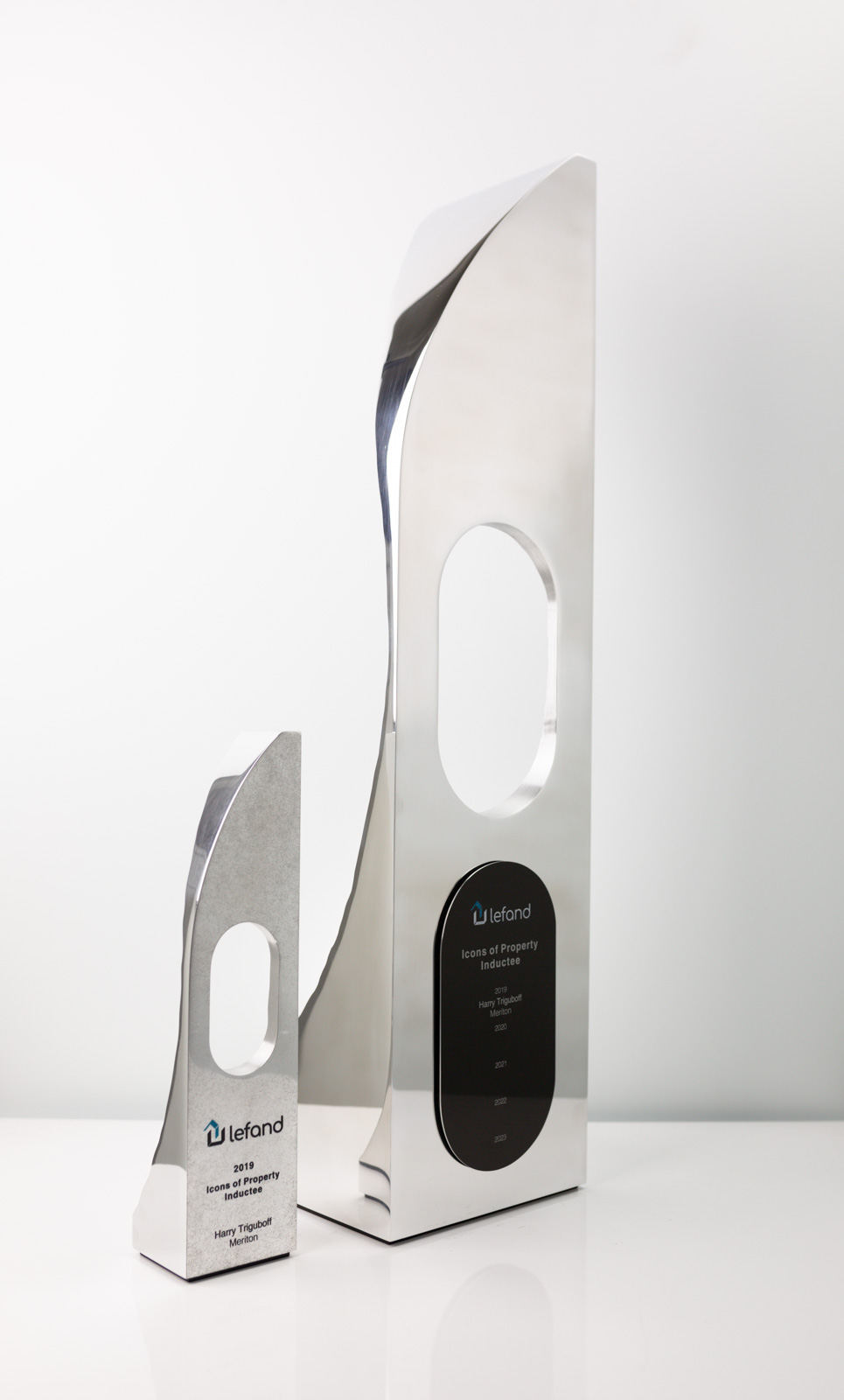 Lefand Icons of Property Perpetual Trophy