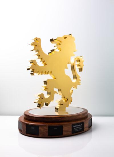 Scots College Dr Ian Lambert Brave Heart Trophy