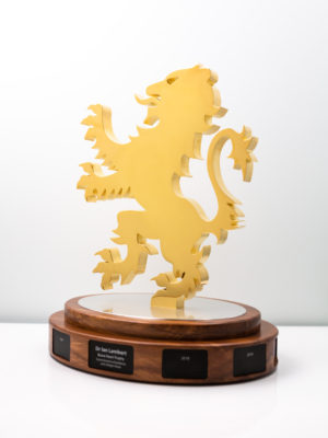 Scots College Brave Heart Lion Trophy