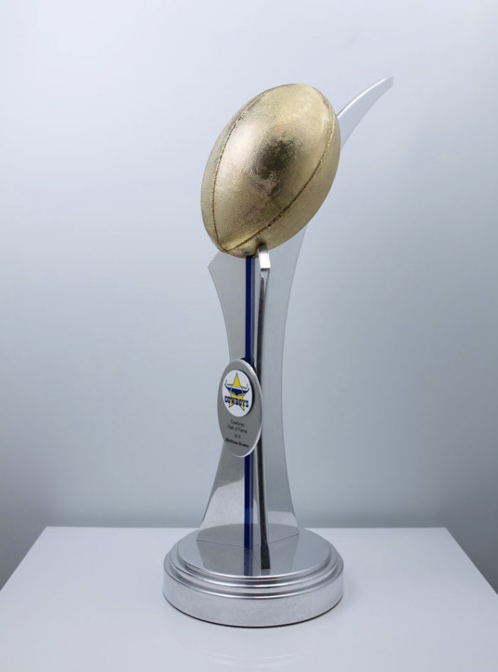North Queensland Cowboys Hall of Fame Trophy