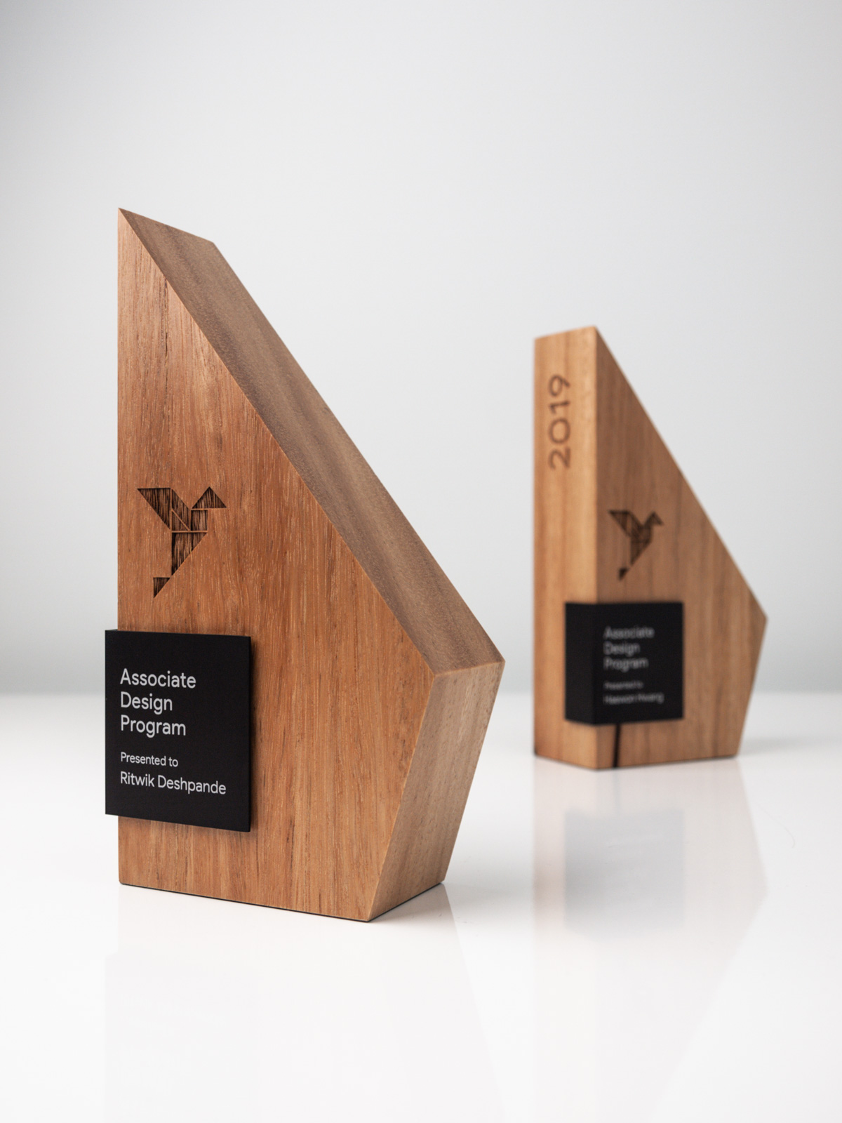 The Google Associate Design Program Sustainable Forma Trophies