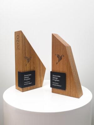 The Google Associate Design Program Custom Sustainable Trophies