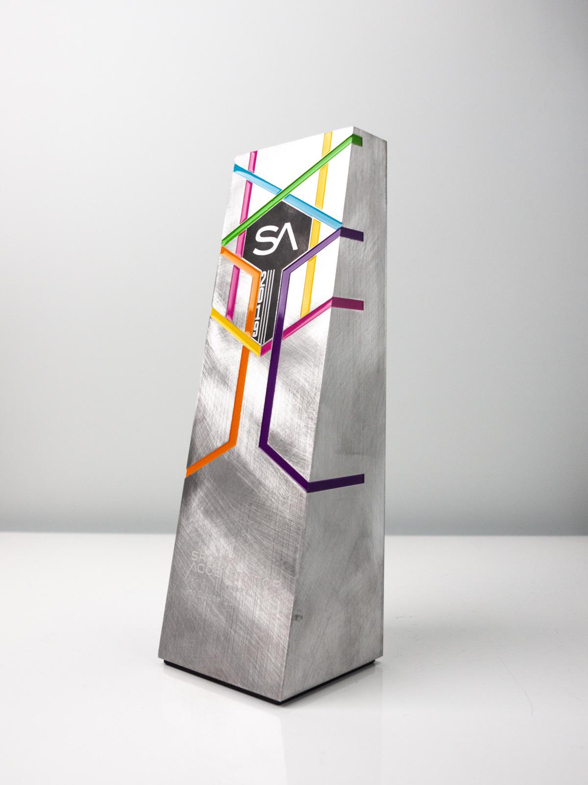 Sport Accelerator Qatar Custom Trophy