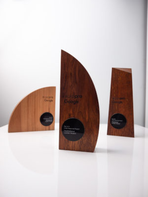 Google Scadpro Sustainable Trophies