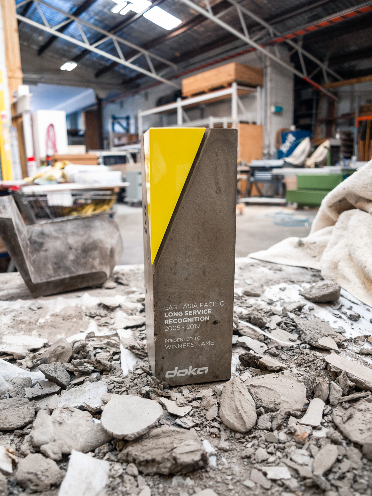 Doka Long Service Recognition Concrete Awards