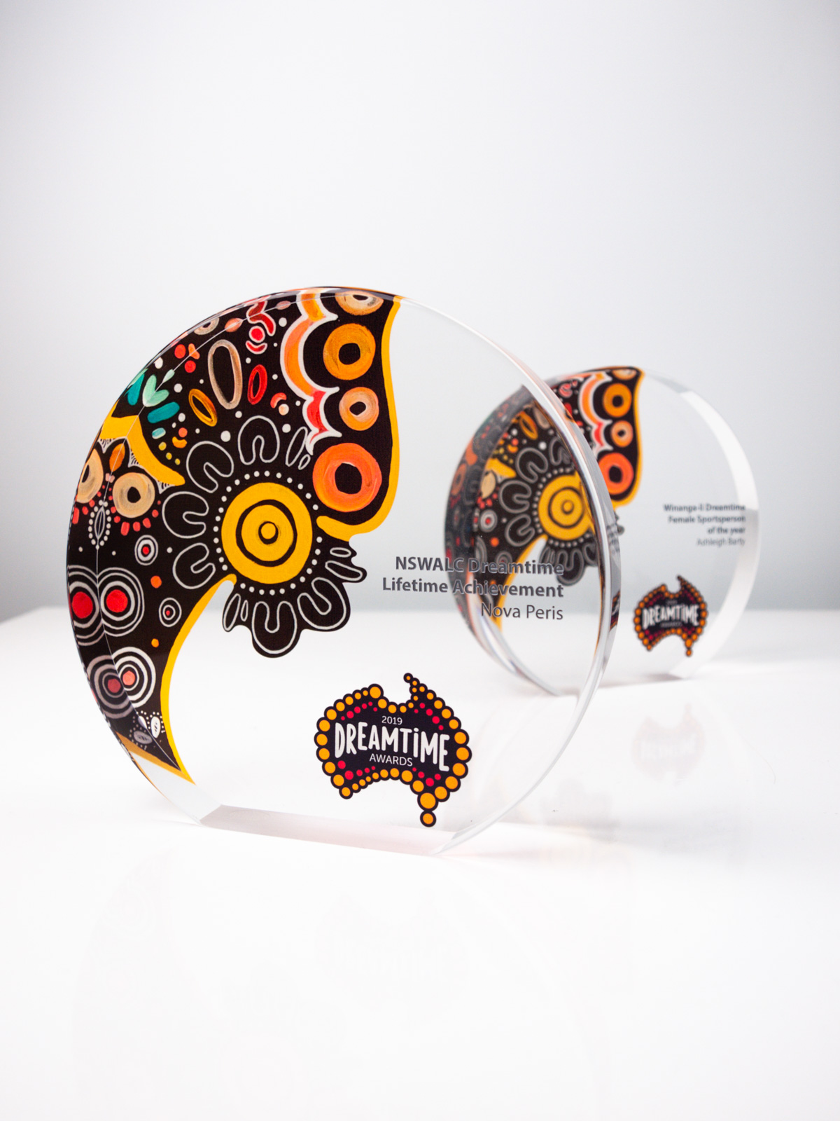 Dreamtime Acrylic Awards