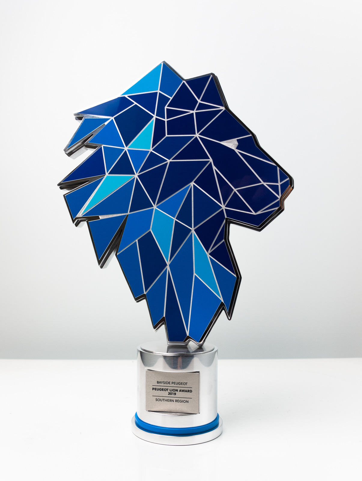 The Peugeot Dealer of the Year Award Trophy Lion Award