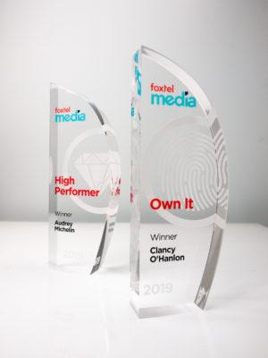 Foxtel Media Award Trophies