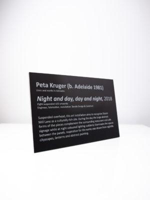 Peta Kruger Artist Placard