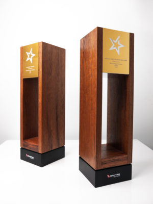 Australian Tourism Council Award Trophies Qantas