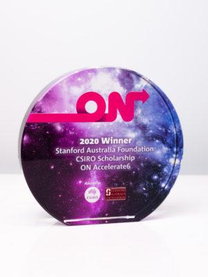 CSIRO On Award Trophy