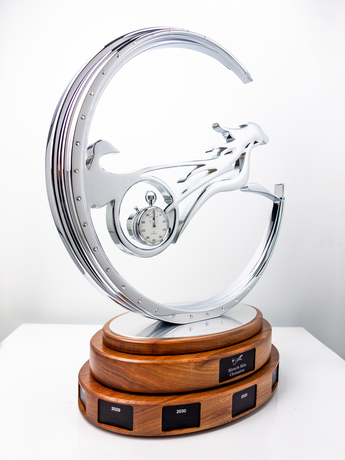 Miracle Mile Champion Horse Racing Trophy