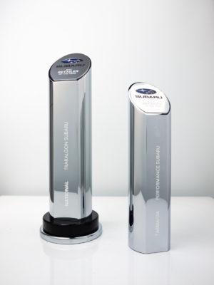 Subaru Award Trophies